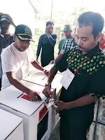 Pemilu Serentak 17 April, Warga Jatiwangi Mulai Memilih
