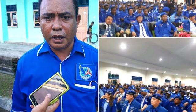 Hasil Muscab DPC Partai Demokrat Se Papua Barat