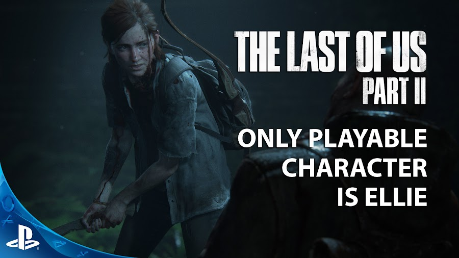 the last of us 2 ellie playable character