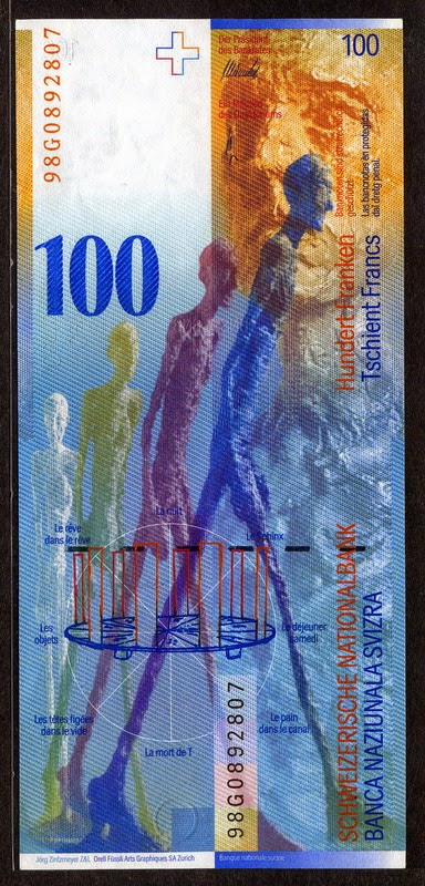 100 Swiss Francs Franken