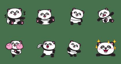 Chubby Baby Panda