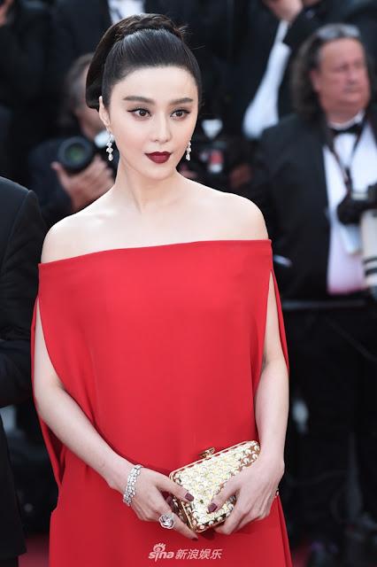 Nhìn lại loạt váy áo của Phạm Băng Băng tại LHP Cannes 2017