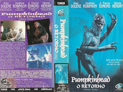 Filme Pumpkinhead 2 - O Retorno DVD Capa