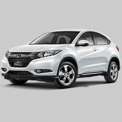 Fitur Mobil Honda HRV, Spesifikasi Honda HRV, HRV Warna Hitam Putih