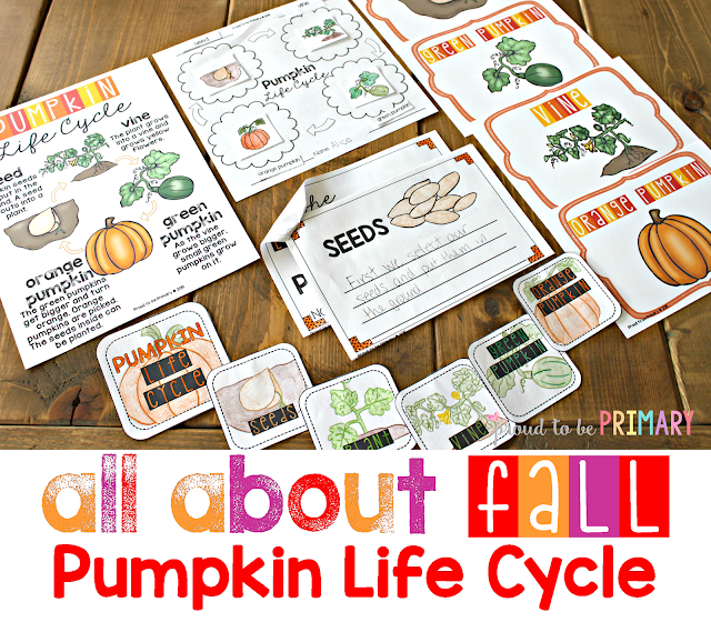 fall lesson plans - pumpkin life cycle