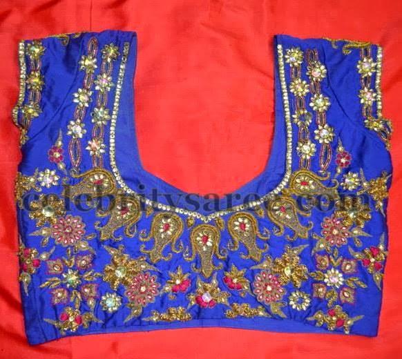 bb53b47b1924c4 Sari Blouse Designs by Srihita - Saree Blouse Patterns