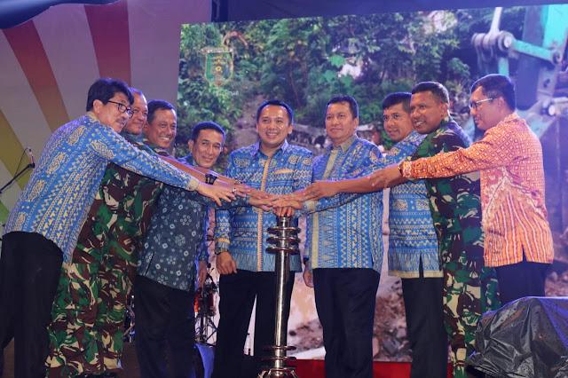 Gubernur Ridho Buka Lampung Fair 2019 dan Mengapresiasi Nuansa Kearifan Lokal Setiap Daerah
