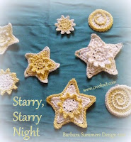 free crochet patterns, how to crochet, stars, christmas decos,