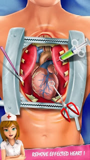 Heart Surgery ER emergency remove effected heart
