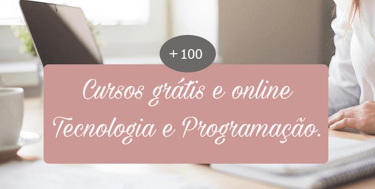 130 Cursos grátis e online
