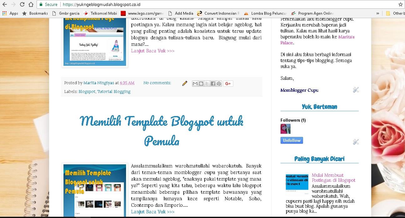 cara mudah menambahkan read more pada blogspot otomatis sudah muncul