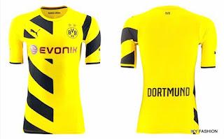 model Jersey Sepak Bola Borussia Dortmund