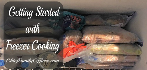 Getting Started with Freezer Cooking