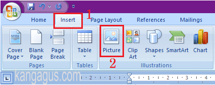 Cara Menggabungkan Beberapa Foto Atau Gambar Di Microsoft Word Komputer