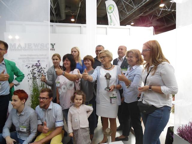 Srebrny Wawrzyn od blogerów ogrodniczych