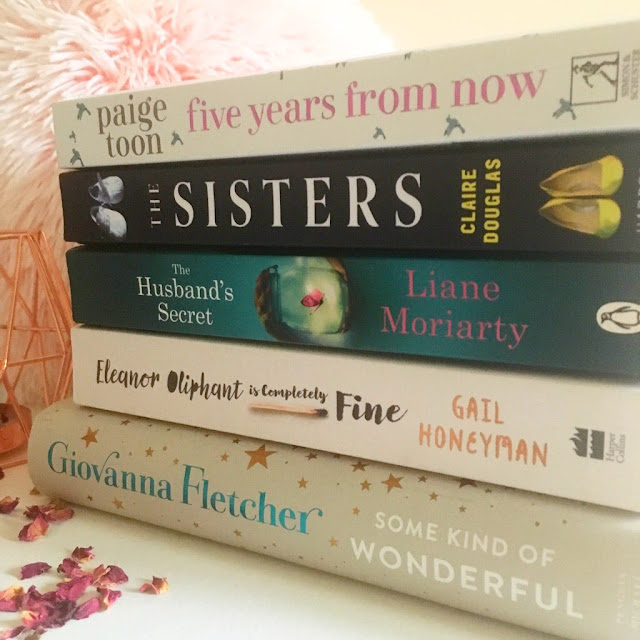 The Mid Year Book Tag including Eleanor Oliphant is Completely Fine, Some Kind of Wonderful and The Sisters