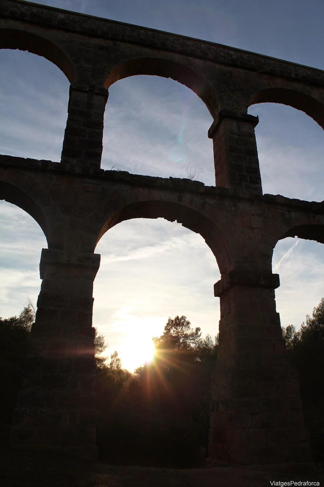 Aqueducte de les Ferreres Tarragona Pont del Diable Conjunt arqueologic de Tarraco Patrimoni de la Humanitat Unesco