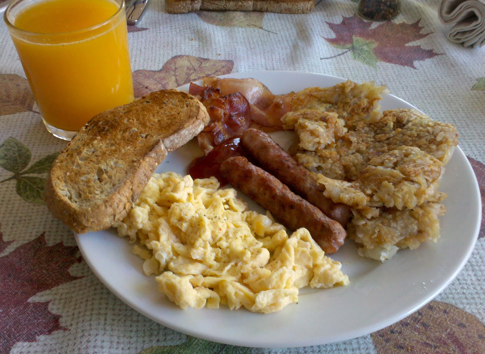 Receta Tortitas Desayuno Americano