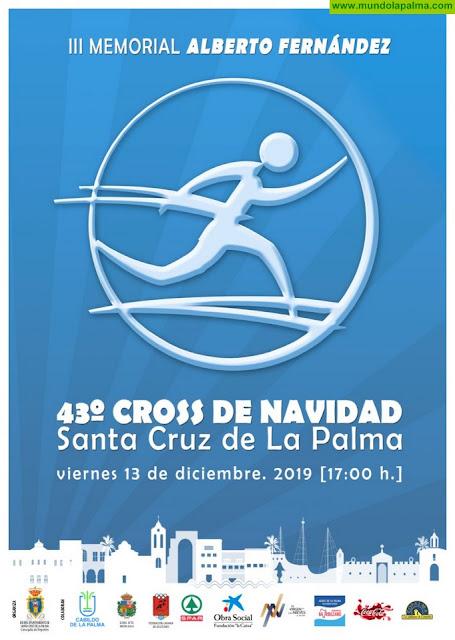 La XLIII Edición del Cross de Navidad de Santa Cruz de La Palma se celebrará el 13 de diciembre