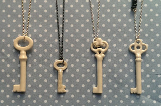 Key Necklaces by Katherine Lees