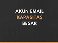 13 Akun Email Berkapasitas Besar