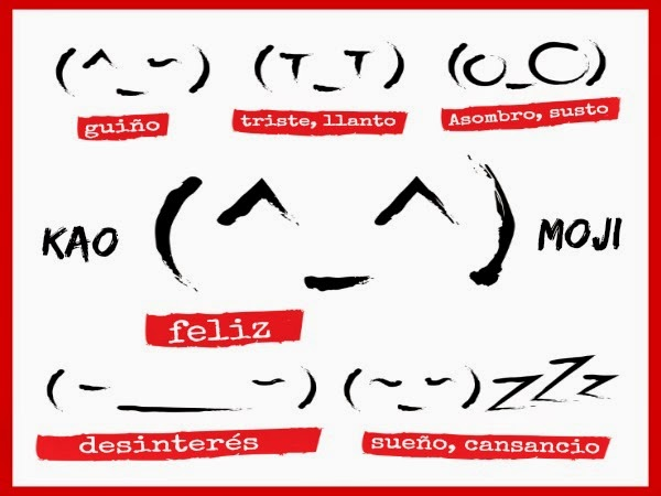 Mundo Otaku Kaomojis Emoticonos Japoneses Kawaii Con El
