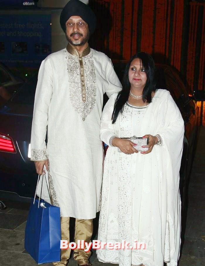 N P Singh, Photos from Amitabh Bachchan's Diwali Bash 2014