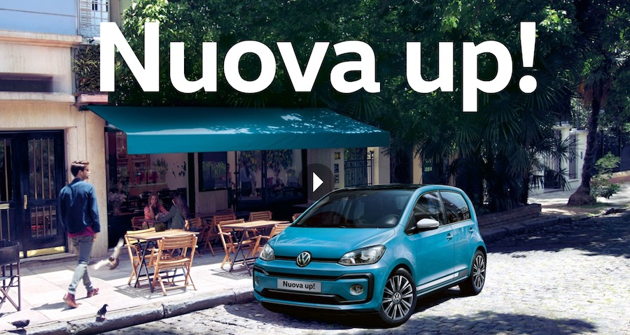 canzone pubblicit nuova volkswagen up 2017 e spot. Black Bedroom Furniture Sets. Home Design Ideas