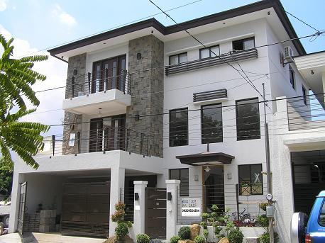 Ma retraite aux philippines maisons aux philippines for Apartment exterior design philippines