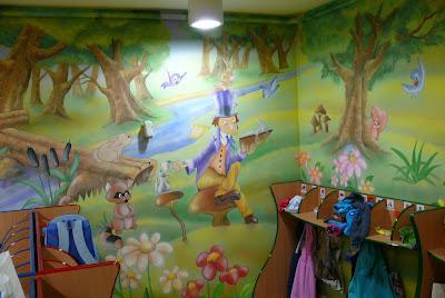 Pokoje dziecięce, malowanie ścian w pokojach dziecięcych, graffiti dla dziecka, mural 3D na ścianie w pokoju dziecka
