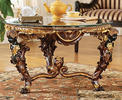 French Baroque Style Cocktail Table