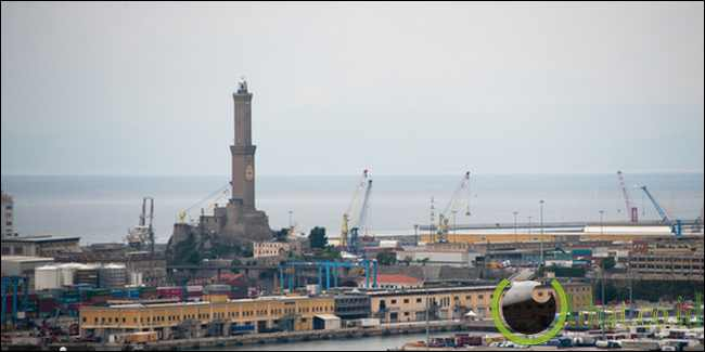The Lighthouse of Genoa - 76 meter