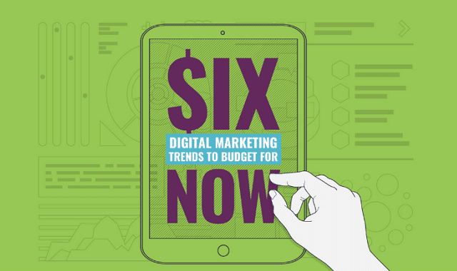 6 Digital Marketing Trends to Budget for Now