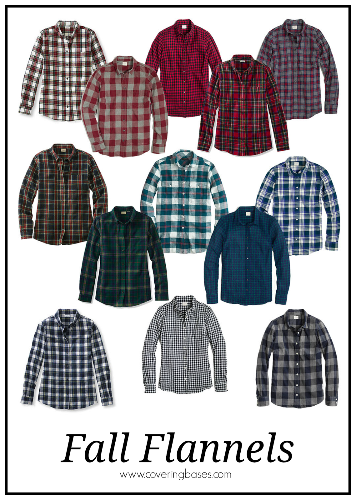 Fall Plaid Flannels