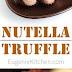 Nutella Chocolate Truffle Recipe