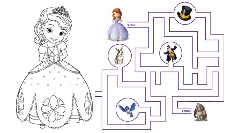Luxo Desenhos Para Colorir Da Princesa Sofia