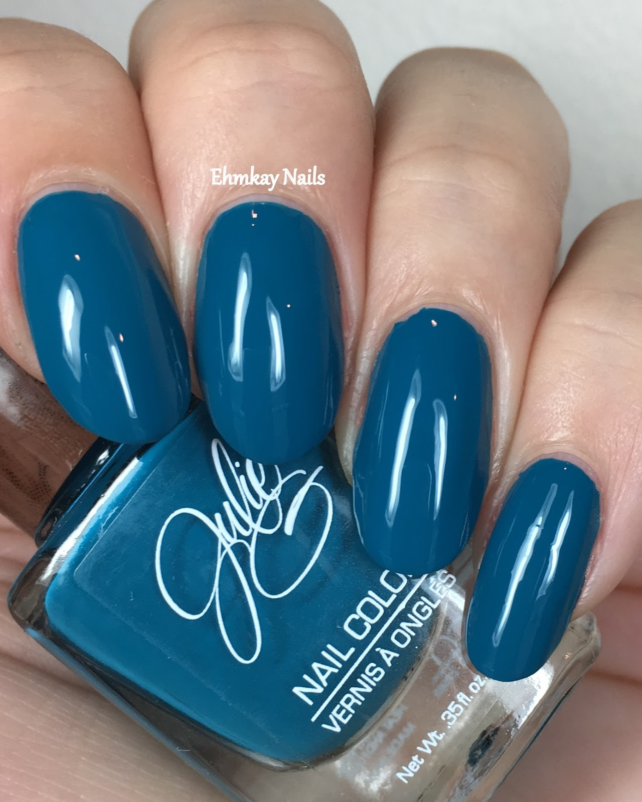 ehmkay nails: Julie G Bohemian Dreams Collection, Swatches and Review