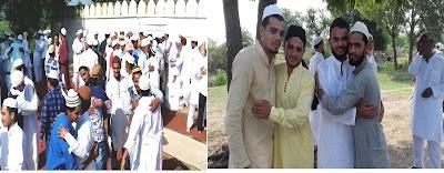 बडे हर्षोल्ला के साथ मनाया ईद उल अजहा का त्यौहार