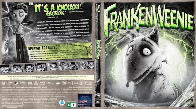 Frankenweenie Bluray Cover