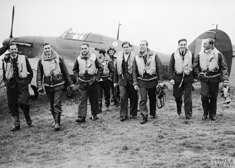24 October 1940 worldwartwo.filminspector.com RAF No. 303 Squadron pilots Battle of Britain
