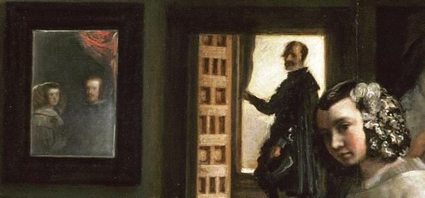 Detalle de las Meninas Velazquez Museo del Prado