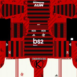 Flamengo 2019-2020 Kits -  Dream League Soccer Kits