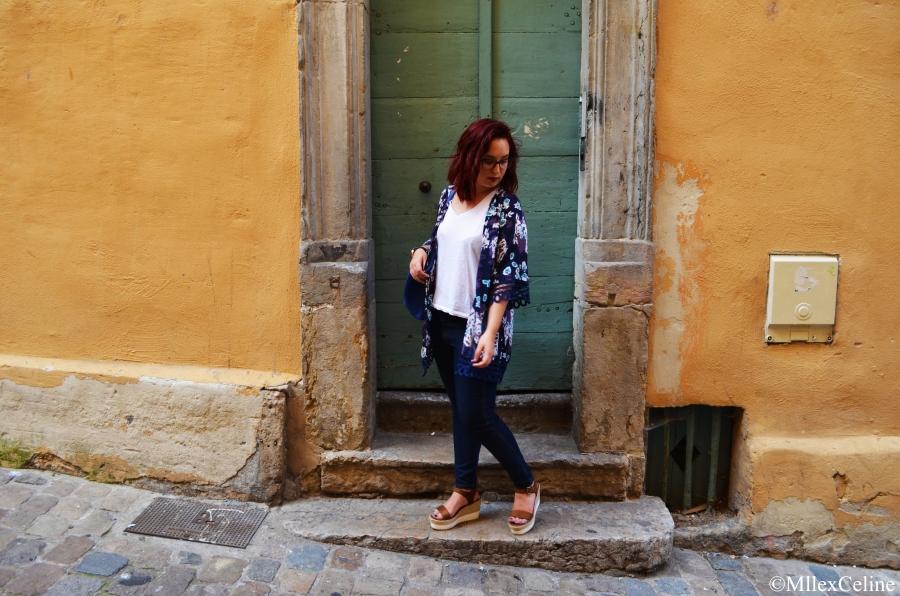Look en Kimono Zaful Blog Mode Beaute Lifestyle