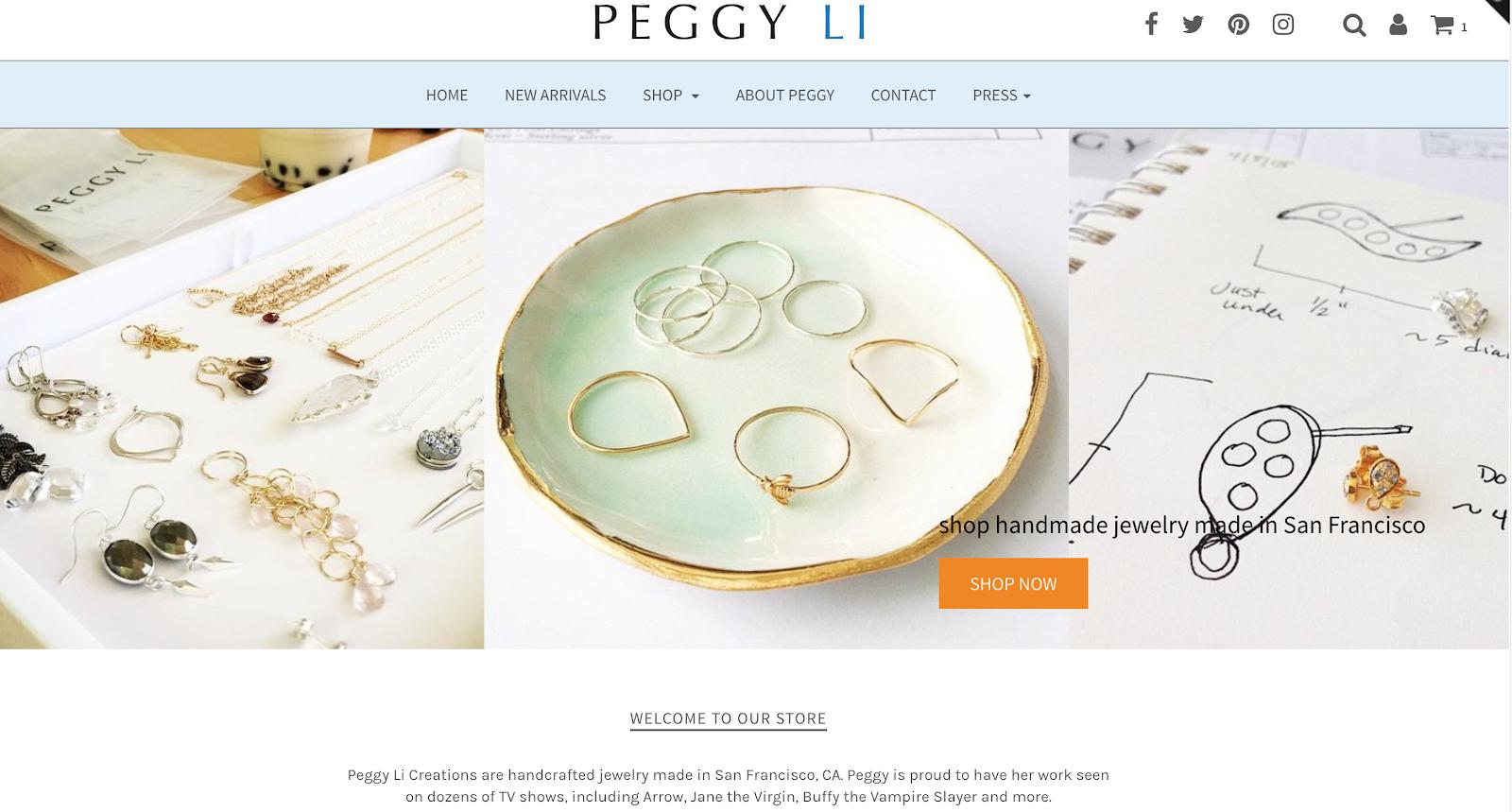 Peggy Li Creations Jewelry Blog on Feedspot - Rss Feed