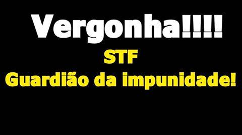 TF, continuando sua campanha pela impunidade, manda soltar o goleiro Bruno