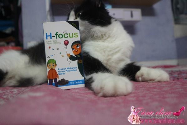 H-Focus Vitamin Mata Dan Kecerdasan Minda Baik Untuk Anak Anda
