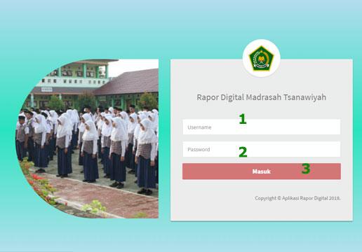 Cara Login Di ARD Madrasah Online
