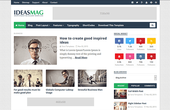 Ideas-mag-theme-download-free