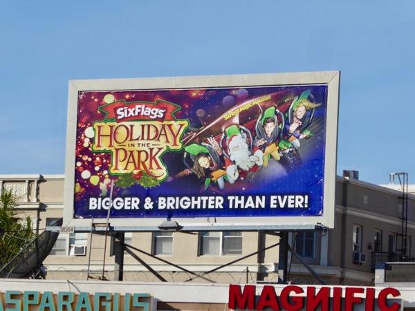 Six Flags Holiday Park 2017 billboard