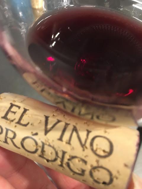 El vino pródigo. Cata en el Monasterio